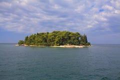 Mediterraan eiland Royalty-vrije Stock Afbeelding