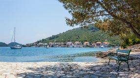 Mediterraan landschap stock fotografie