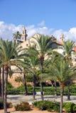 Mediterraan Park stock afbeeldingen