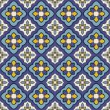 Mediterraan vectorpatroon Royalty-vrije Stock Fotografie