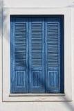 Mediterraan venster Royalty-vrije Stock Afbeelding