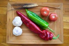 Mediterraan voedsel Stock Afbeelding