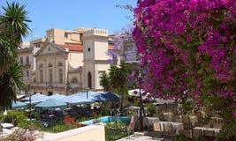 Mediterraanean town Royalty Free Stock Photo