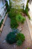 Atrium-Hof gardner Garten Lizenzfreie Stockfotos