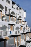 Mediterrane architectuur stock afbeelding
