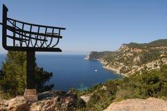Mediterrane Baai Royalty-vrije Stock Afbeeldingen