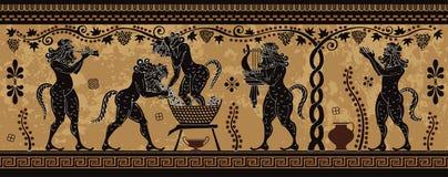 Mediterrane Cultuur De oude mythologie van Griekenland stock foto's