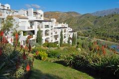Mediterrane flats Royalty-vrije Stock Foto's