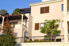 Mediterrane flats Stock Foto's