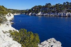 Mediterrane geest Stock Foto's