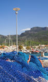 Mediterrane jachthaven Royalty-vrije Stock Foto