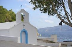 Mediterrane Kerk Stock Foto's