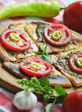 Mediterrane keuken stock afbeelding