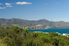 Mediterrane Kust stock fotografie