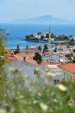 Mediterrane kust in Datca, Turkije Stock Foto
