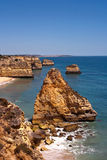 Mediterrane Kustlijn Royalty-vrije Stock Foto