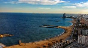 Mediterrane mening stock foto's