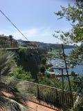 Mediterrane mening van Sorrento, Italië royalty-vrije stock foto's