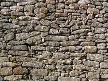 Mediterrane muur stock afbeelding