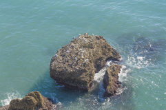 Mediterrane oceaan Royalty-vrije Stock Afbeeldingen