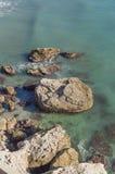 Mediterrane oceaan Royalty-vrije Stock Foto