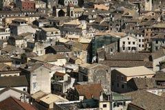 Mediterrane oude stad Stock Fotografie