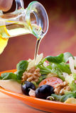 Mediterrane Salade Stock Foto's