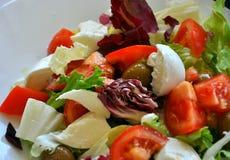 Mediterrane salade Stock Afbeelding