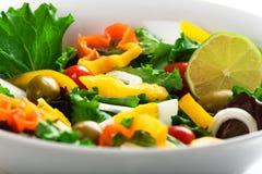 Mediterrane salade Stock Fotografie