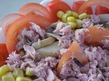 Mediterrane salade royalty-vrije stock foto