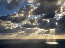 Mediterrane Schemering Royalty-vrije Stock Foto's