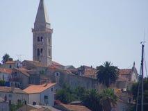 Mediterrane stad Royalty-vrije Stock Foto's