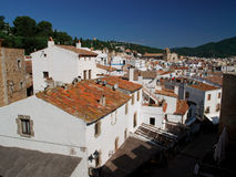Mediterrane stad Royalty-vrije Stock Fotografie