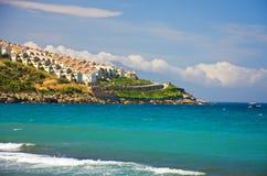 Mediterrane stad Stock Foto