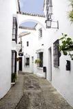 Mediterrane straat Stock Foto's