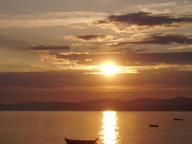 Mediterrane sundance Stock Afbeelding