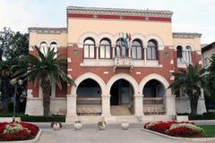 Mediterrane Villa 1 Royalty-vrije Stock Fotografie