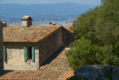 Mediterrane Villa Royalty-vrije Stock Afbeelding