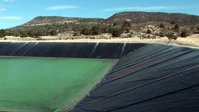 Mediterrane waterstorting stock footage