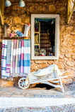 Mediterrane winkel Royalty-vrije Stock Foto's