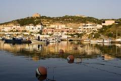 Mediterrane zeehaven Royalty-vrije Stock Foto's