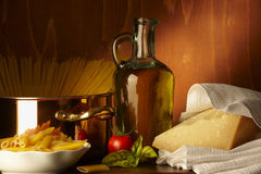 Mediterranea de Dieta Imagem de Stock Royalty Free