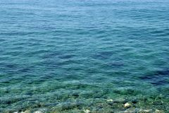 Mediterranean. Cool clear waters of the mediterranean Stock Images
