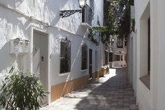 Mediterranean alley Royalty Free Stock Photography