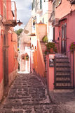 Mediterranean alley Stock Photos