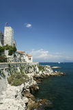 Mediterranean antibes south of france Royalty Free Stock Images
