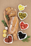 Mediterranean Antipasti Stock Photography