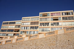 Mediterranean apartments Stock Photography