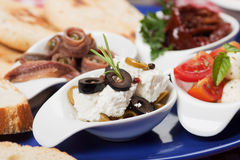 Mediterranean appetizer Royalty Free Stock Photo