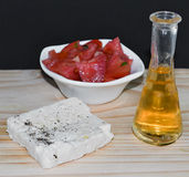 Mediterranean appetizer Stock Photos